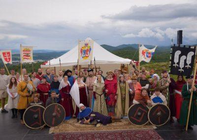 Kráľovská svadba opäť ožila na Pustom hrade vo Zvolene